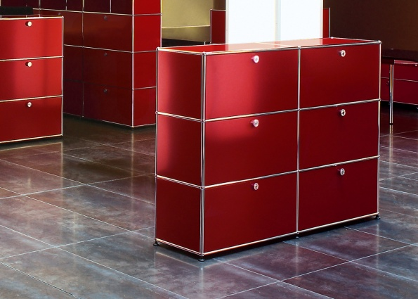 Decoburo mobilier usm haller en stock vente for Meuble usm occasion